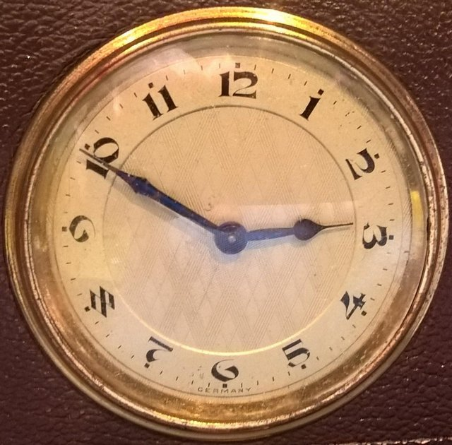 """Image 3 of A Vintage (& Rare) """"Mauthe Wind-Up"""" Travel Clock."""