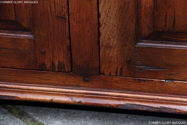 Image 44 of BEVAN FUNNELL SOLID OAK SIDEBOARD DRESSER BASE HALL CABINET