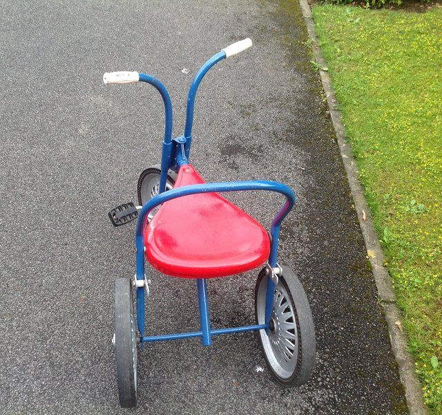Preview of the first image of Triang Vintage Tricycle..