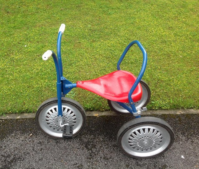 Image 2 of Triang Vintage Tricycle.