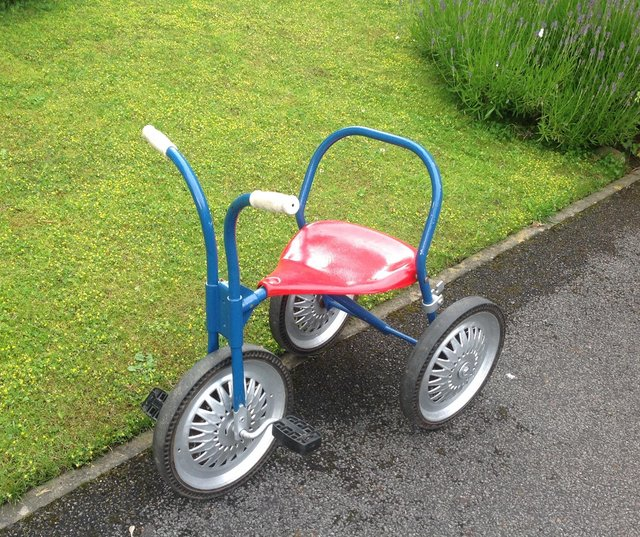 Image 3 of Triang Vintage Tricycle.