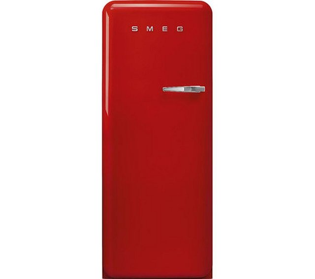 Preview of the first image of SMEG RETRO 50'S STYLE RED UPRIGHT FRIDGE WITH ICEBOX-A+++-.