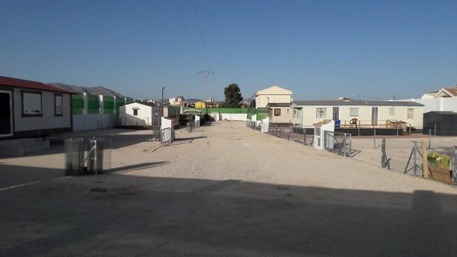 Preview of the first image of pitch plot static caravan mobile home spain alicante.