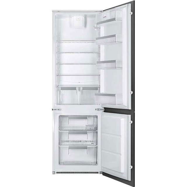 Preview of the first image of SMEG INTEGRATED 70/30 FRIDGE FREEZER-SPACIOUS-TOP BRAND-NEW*.