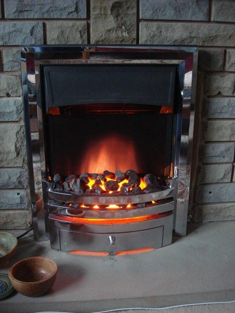 Preview of the first image of Coal effect electric heater. 2kw.