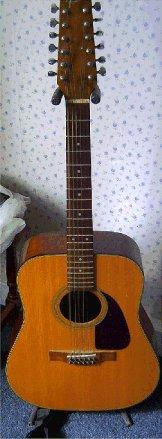 Preview of the first image of Fender 12 string guitar.