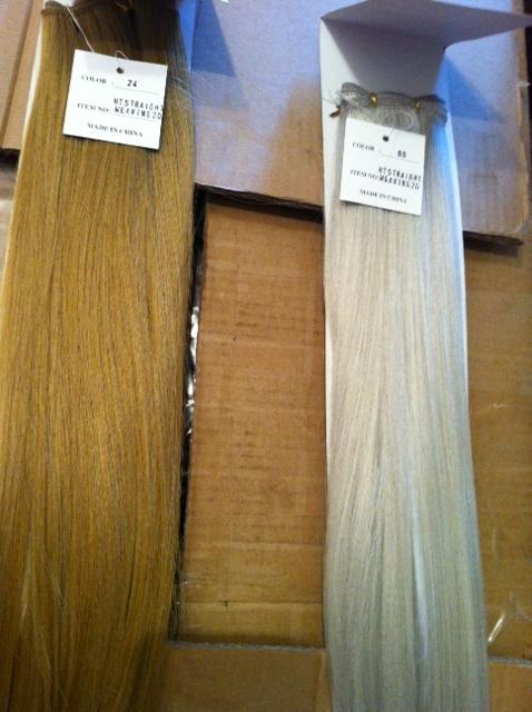 Image 2 of Synthetic hair extensions
