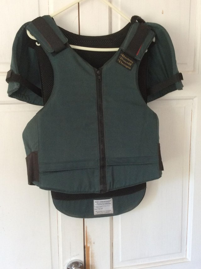Image 3 of Rodney Powell Body Protector with shoulders Adult long