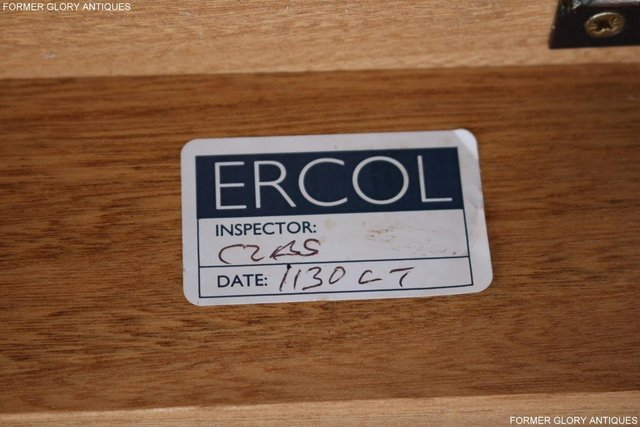 Image 29 of AN ERCOL WINDSOR LIGHT ELM CORNER TV CABINET DVD TABLE STAND