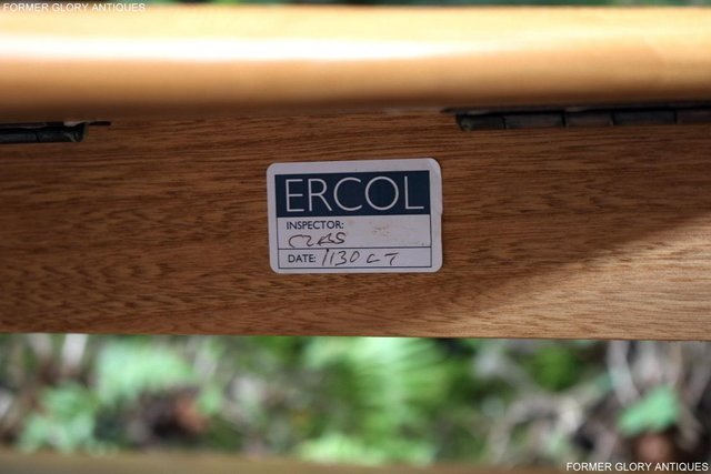 Image 44 of AN ERCOL WINDSOR LIGHT ELM CORNER TV CABINET DVD TABLE STAND