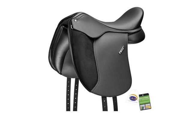 """Preview of the first image of NEW Wintec Pony Dressage Saddle 15"""" Cair RRP £575."""