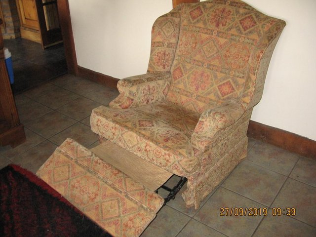 Preview of the first image of Reclining chair, believed Parker Knoll..