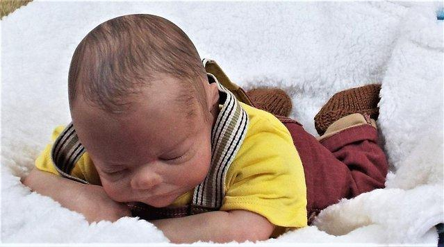 Preview of the first image of Reborn baby boy doll.
