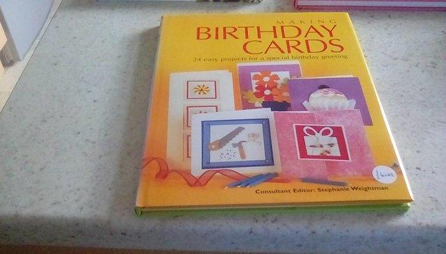 Preview of the first image of Craft card making books sale.