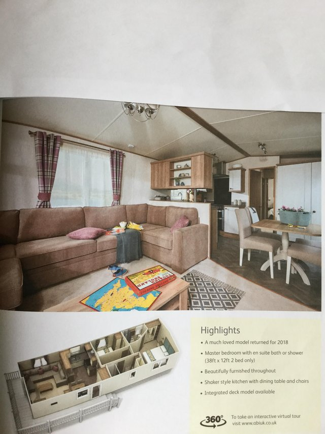 Image 16 of ABI St David 38ft x 12ft 2 bed static caravan 12 month site