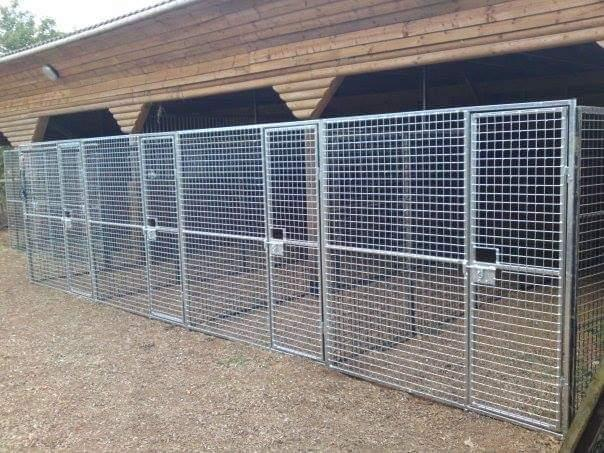 Image 4 of Top quality steel fabricated kennels/catteries/cages/runs