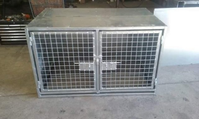 Image 8 of Top quality steel fabricated kennels/catteries/cages/runs