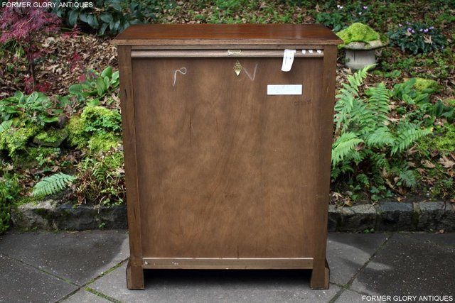 Image 35 of OLD CHARM LIGHT OAK TALL CHEST OF DRAWERS TV STAND SIDEBOARD