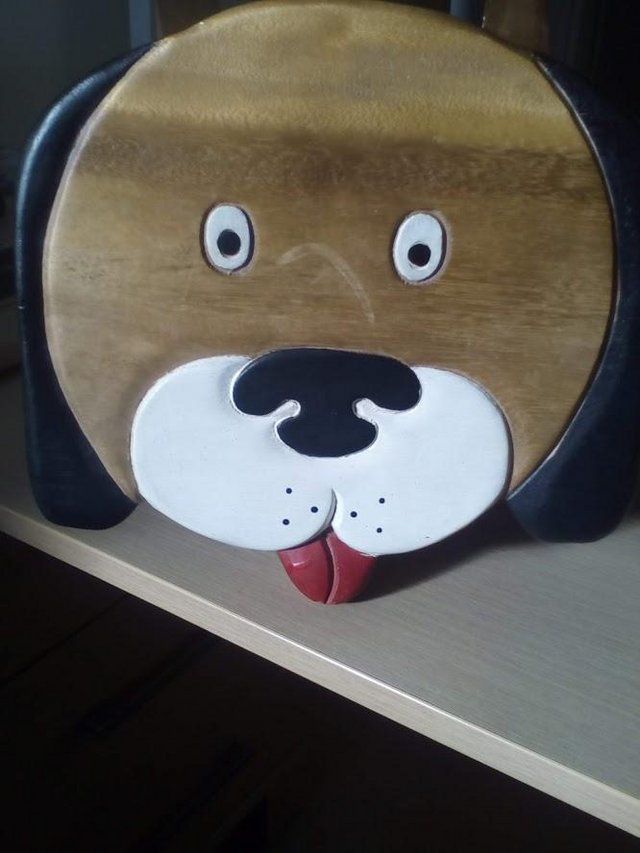 Preview of the first image of Kids, Child's Wooden Stool.