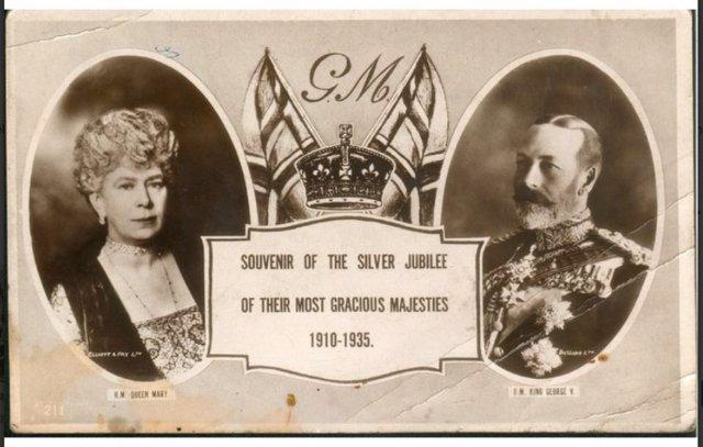 Preview of the first image of Silver Jubilee Of Their Most Gracious Majesties 1910-1935.