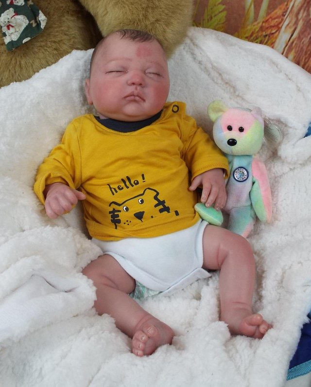 Image 3 of Reborn baby boy doll