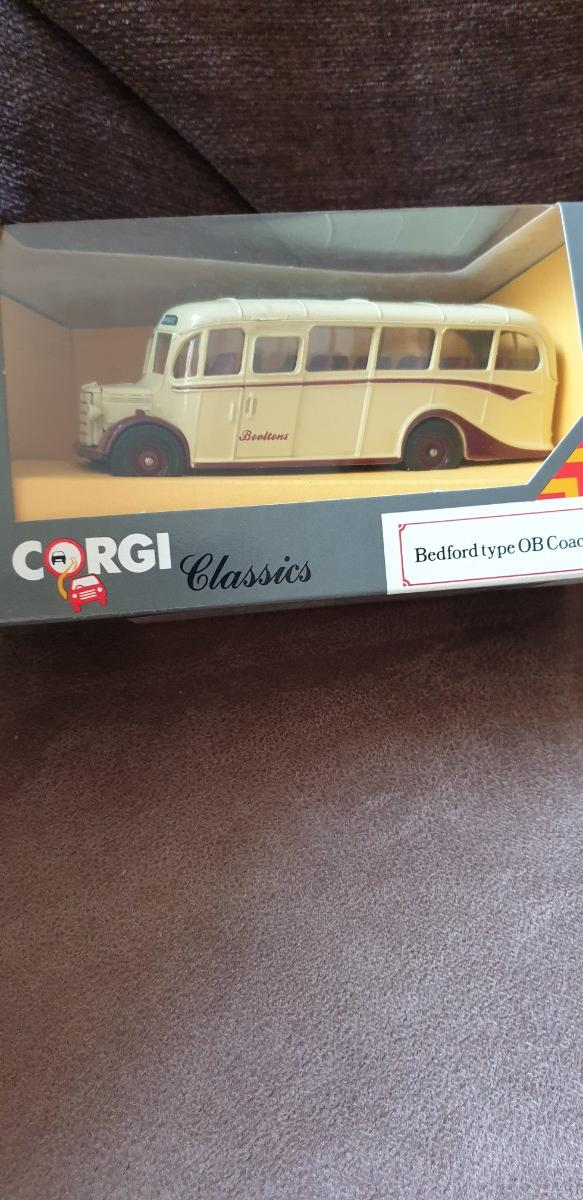Preview of the first image of Corgi Classics - AEC 5T Carrier & Bedford OB Type Coaches.