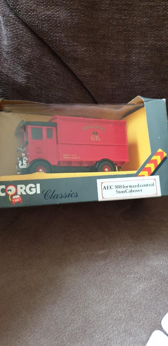 Image 3 of Corgi Classics - Thornycroft Bues and AEC 5T Van