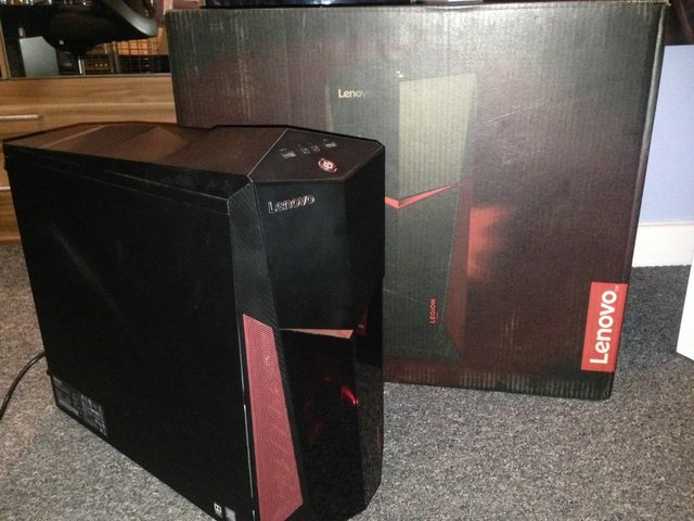 Preview of the first image of Lenovo Legion Y520T Gaming PC.