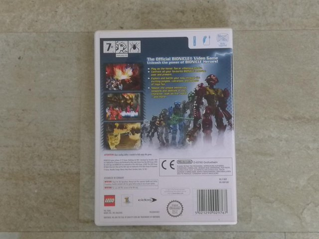 Image 2 of Nintendo Wii Game 'Bionicle Heroes' Rated 7+