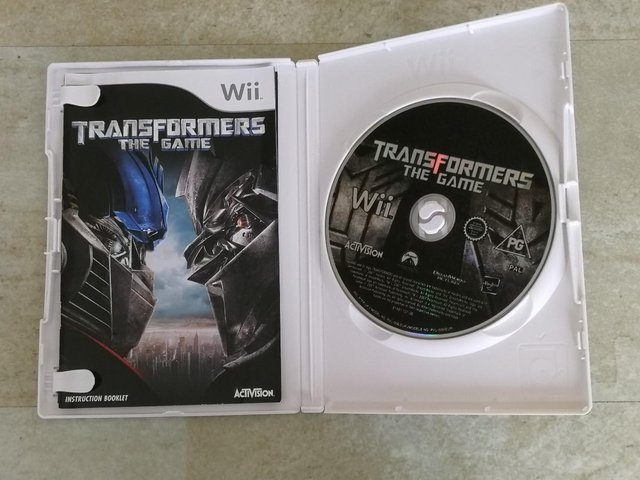 Image 2 of Nintendo Wii Game 'Transformers The Game' Rated PG