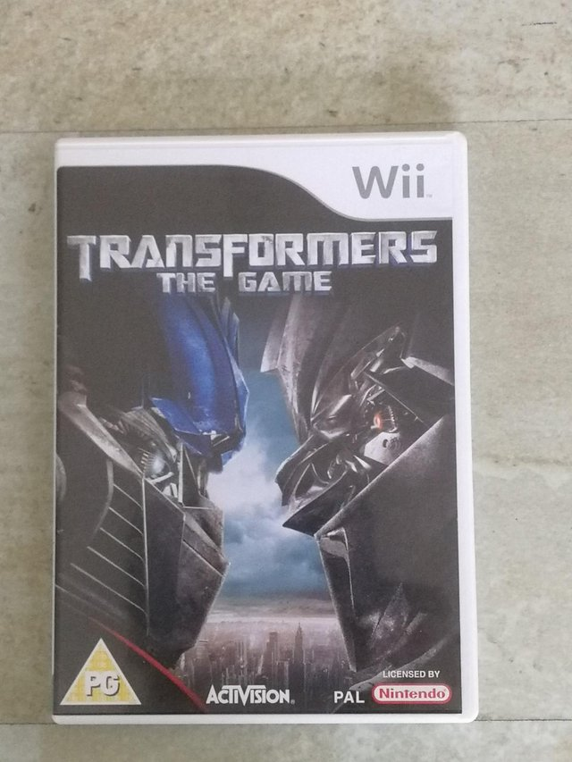 Image 3 of Nintendo Wii Game 'Transformers The Game' Rated PG