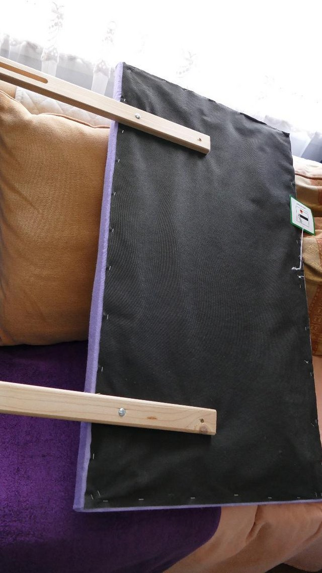 Preview of the first image of Bed Lilac Headboard.