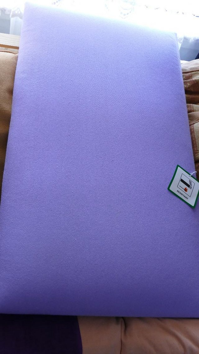 Image 2 of Bed Lilac Headboard