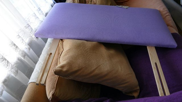 Image 3 of Bed Lilac Headboard