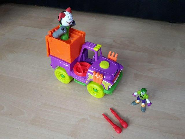 Image 2 of Imaginext Joker Vehicles