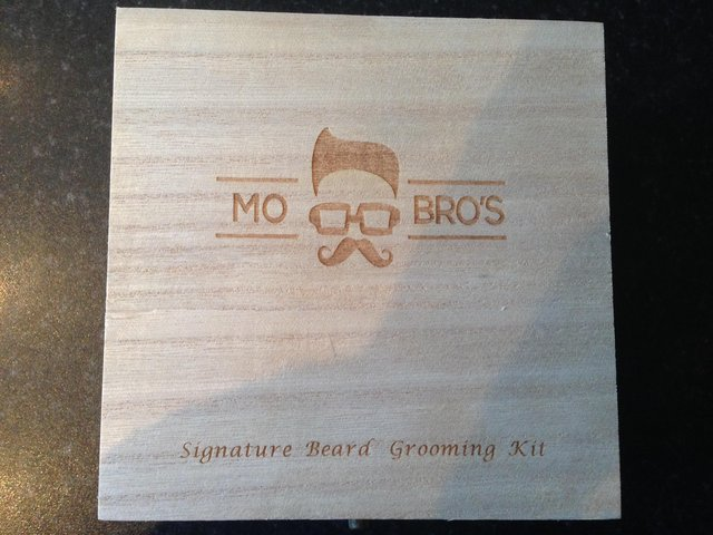 Image 2 of Mo Bro's signature beard grooming kit