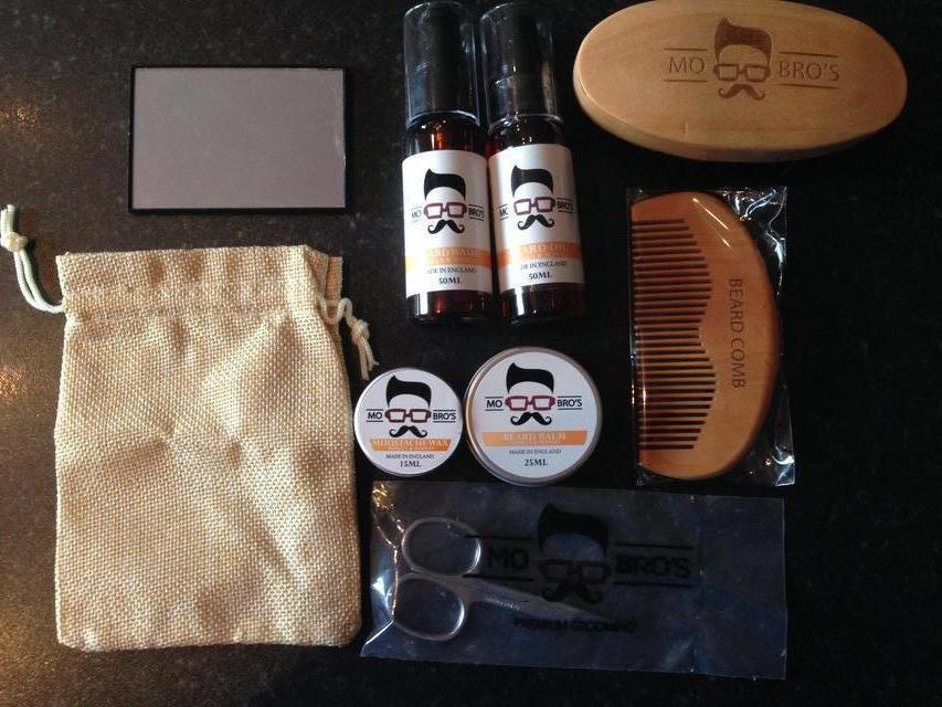Image 3 of Mo Bro's signature beard grooming kit