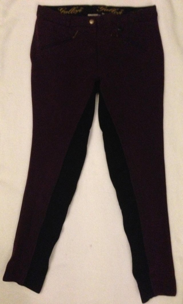Preview of the first image of Children's Gallop riding jodhpurs size child 32.