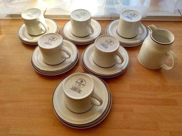 Image 2 of Royal Doulton Ting Lambethware Tea Coffee Set - Vintage 1974