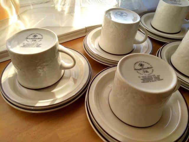 Image 3 of Royal Doulton Ting Lambethware Tea Coffee Set - Vintage 1974