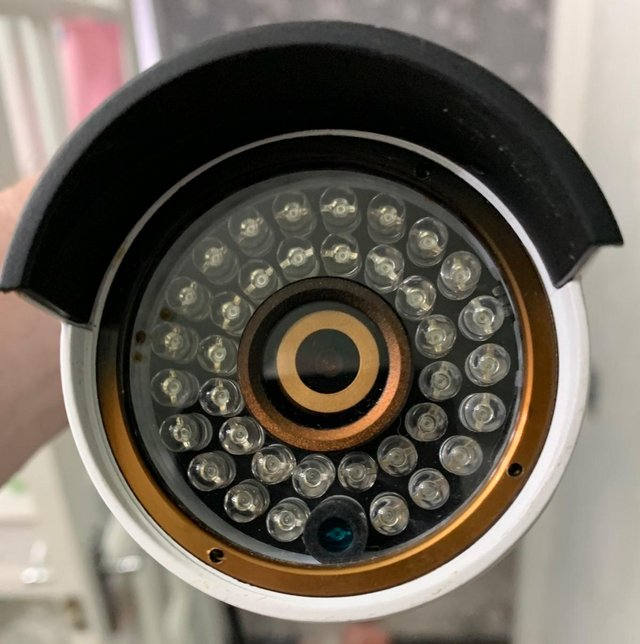 Preview of the first image of SWANN CCTV INFRA RED CAMERAS X4 PLUS X4 RJ45 LEADS.