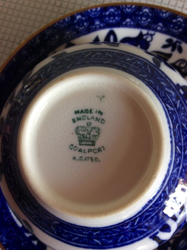 Image 2 of Coalport cup and saucer