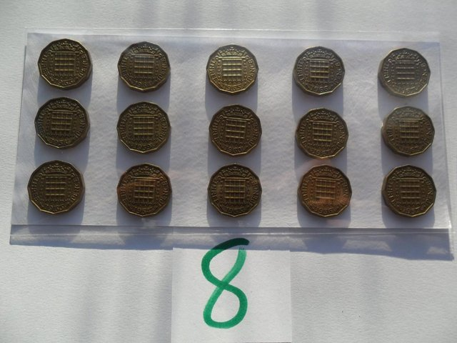 Image 3 of COIN SET'S FARTHING TO CROWN