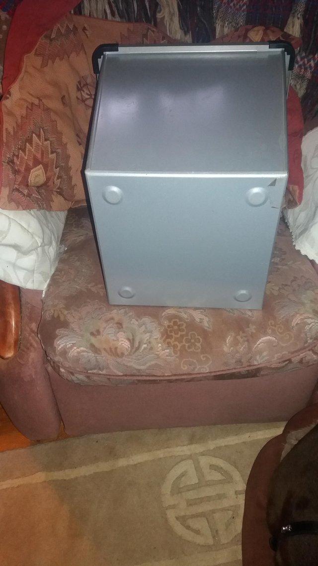 Image 2 of Office Metal Waste Bin
