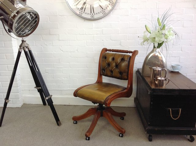 Image 7 of Chesterfield armchairs. Queen Anne & club style. Can deliver