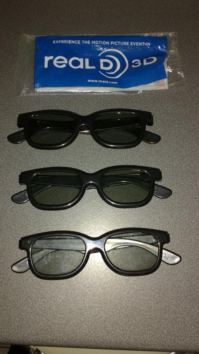 Preview of the first image of Real 3D glasses.