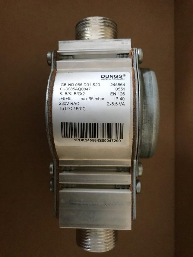 Preview of the first image of Remeha Gas Valve Combination Block S58685.