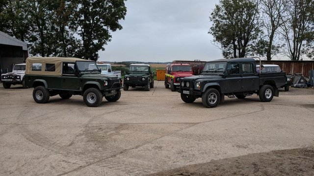 Preview of the first image of Land Rover Defender WANTED NOW.