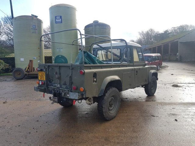 Image 3 of Land Rover 110 Soft Top & P/Up H/Top 1986 #108
