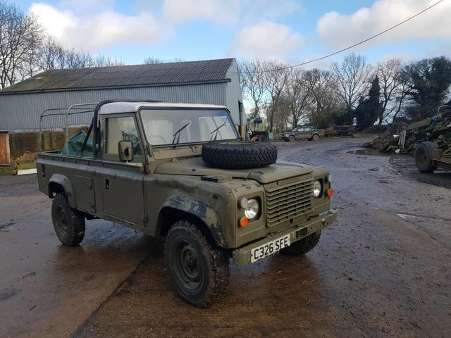 Image 5 of Land Rover 110 Soft Top & P/Up H/Top 1986 #108